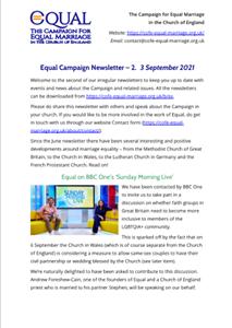 Newsletter #2